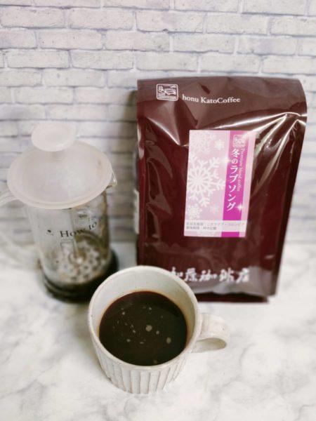 IMG20210129061737 450x600 - 加藤珈琲店のコーヒー豆「冬のラブソング」飲んだ正直な感想