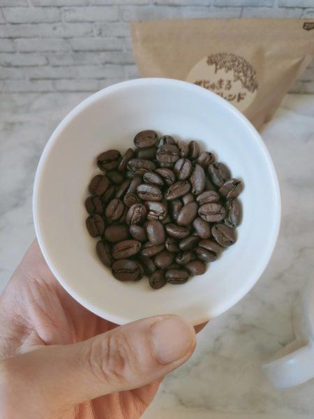 IMG20210212161647 450x600 - コーヒー豆通販レビュー|豆ポレポレ「がじゅまるブレンド」