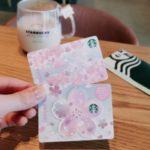 ミニ スターバックス カード SAKURA ピンクブレス