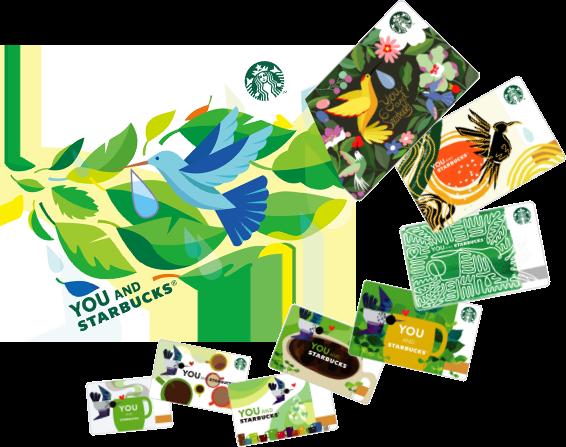 mainVisual card - スタバが3/8〜ハミングバードプログラム開始|新スタバカードも登場