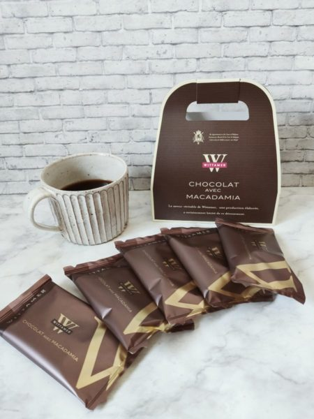 ヴィタメールのチョコレート