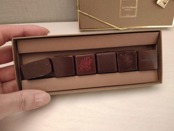 ジャンポールエヴァンのボンボンショコラ6種を食べた正直な感想