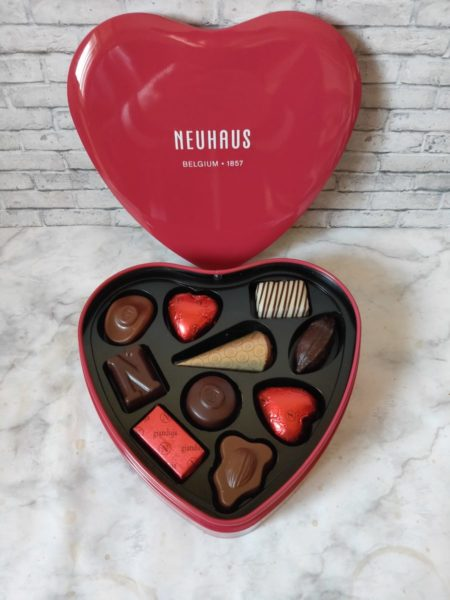 ノイハウスのチョコレートを食べた感想