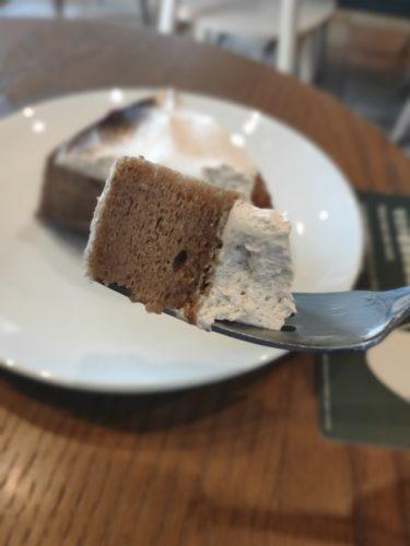 紅茶のアーモンドミルクケーキ