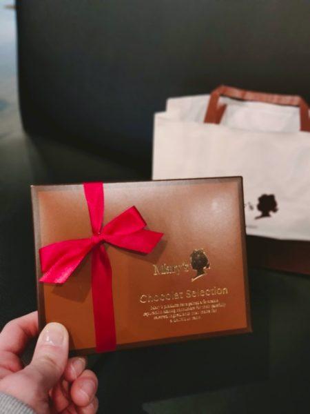 メリーチョコレートのパッケージ写真