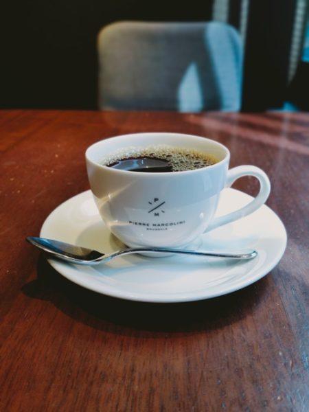 ピエールマルコリーニ銀座カフェのコーヒー