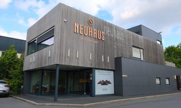ベルギーのノイハウスの店舗