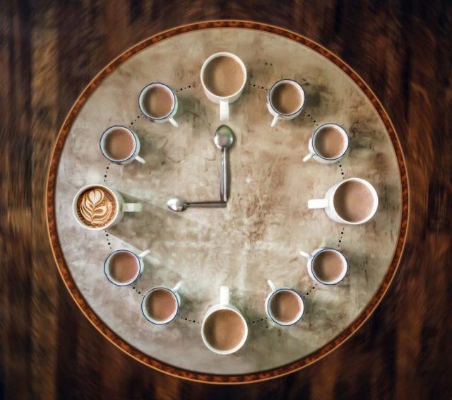 カフェ時計