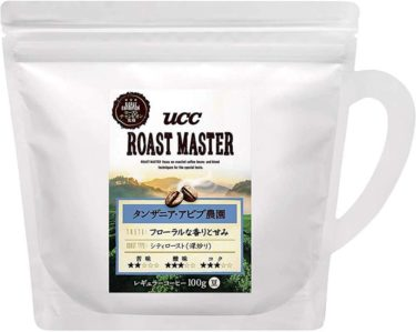 UCC上島珈琲:ROAST MASTER 豆 タンザニア・アビブ農園