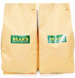 bears coffee:モカマタリ