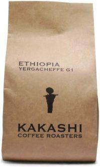 自家焙煎かかし珈琲:エチオピアイルガチェフェG1ナチュラル