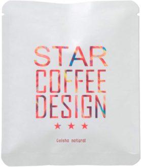 STAR COFFEE DESIGN [ ゲイシャ ナチュラル ] ドリップバッグ 11g