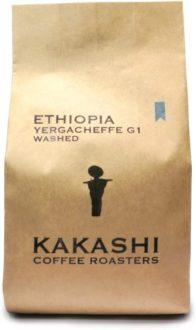自家焙煎かかし珈琲:エチオピアイルガチェフェG1ウォッシュト