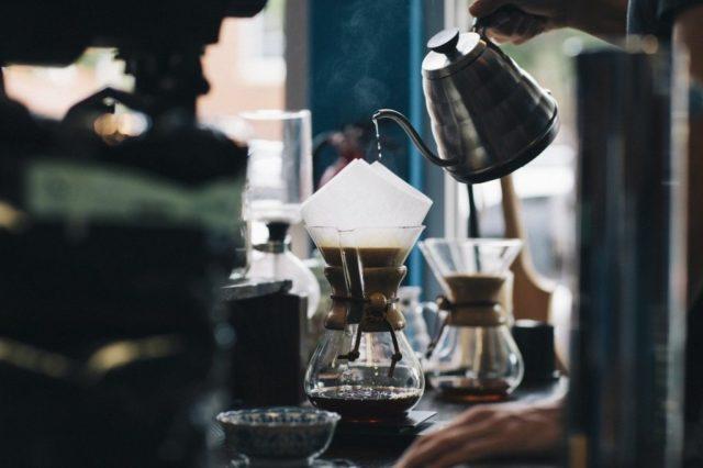 コーヒー飲み方