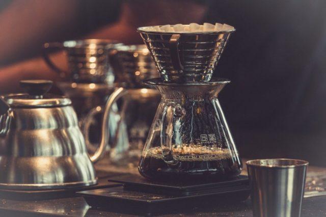 ドリップコーヒーで作る
