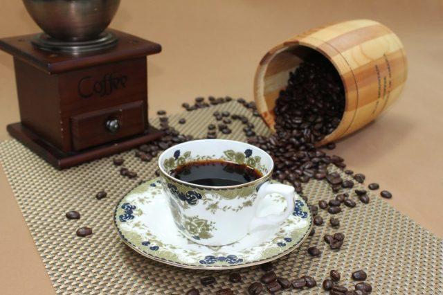ブルーマウンテンコーヒーとコーヒー豆