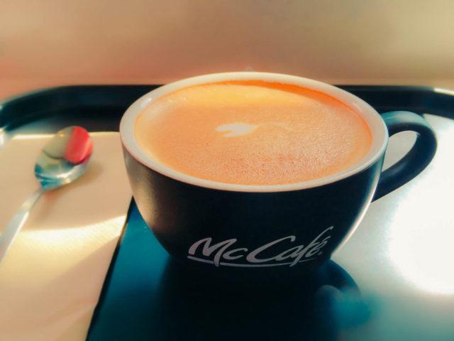 マクドナルドのフラットホワイト-1