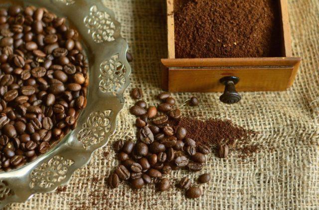 コーヒー豆の種類も選べる(アラビカ種orロブスタ種)
