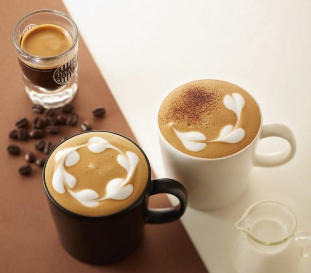 タリーズコーヒーのフラットホワイト