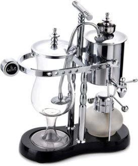 Diguo 帝国 高級ベルギーコーヒーメーカー(シルバー)