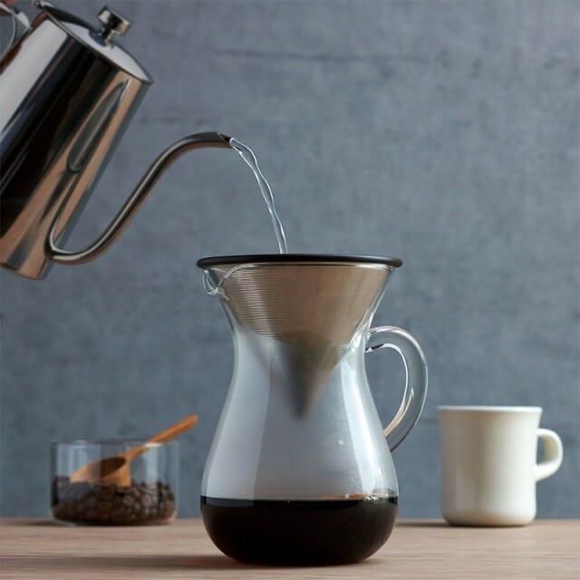 ベトナムコーヒーの金属フィルターでの入れ方