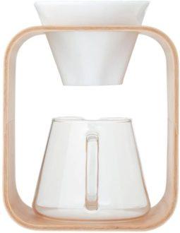 iwaki コーヒーポット& ドリッパー セット