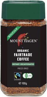 マウントハーゲン オーガニック フェアトレード インスタント カフェインレスコーヒー