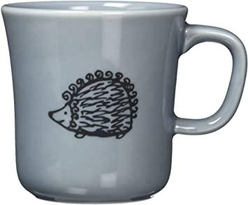 Lisa Larson ラインアートマグカップ ハリネズミ 300ml