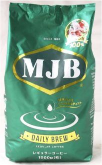 MJB デイリーブリュー(アラビカ 豆 100%) 1kg