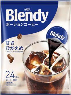 AGF ブレンディ ポーションコーヒー 甘さひかえめ