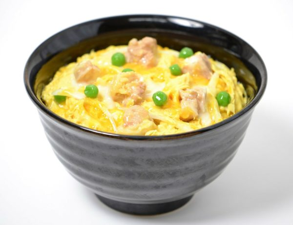 和風の丼料理