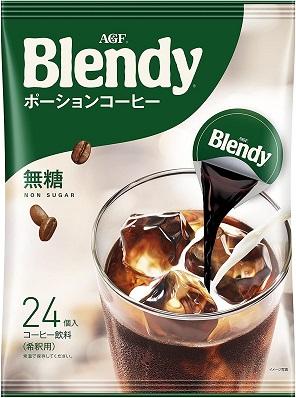 味の素AGF ブレンディ ポーションコーヒー 無糖