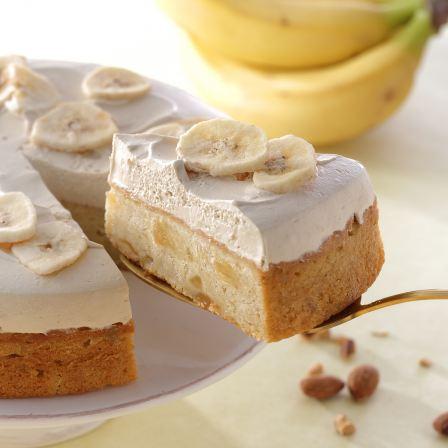 バナナのアーモンドミルクケーキの値段・カロリー・感想