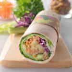 10種の野菜と5種のビーンズ サラダラップの値段・カロリー