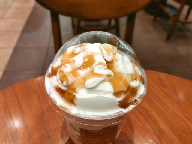 千葉なごみ みたらしコーヒー クリームフラペチーノ