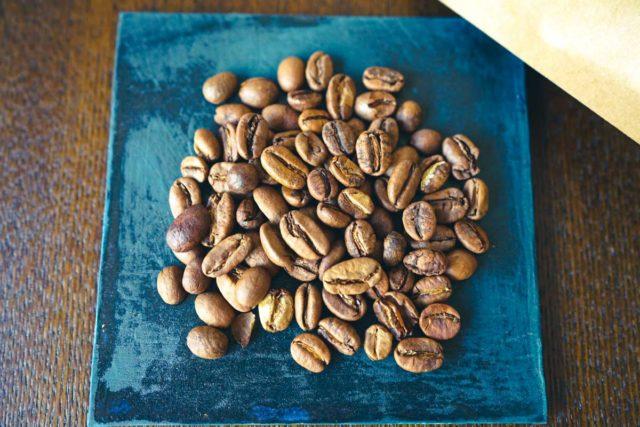 コーヒー豆の状態は良好