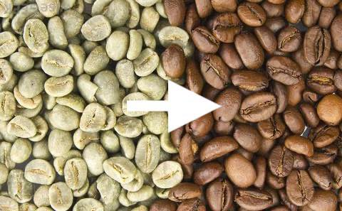 コーヒー豆焙煎